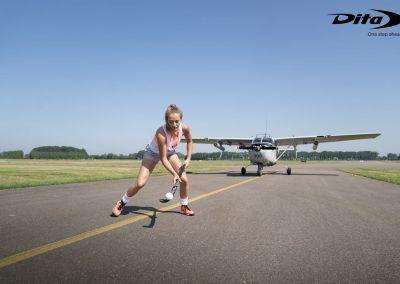 Renee van Laarhoven airdribble